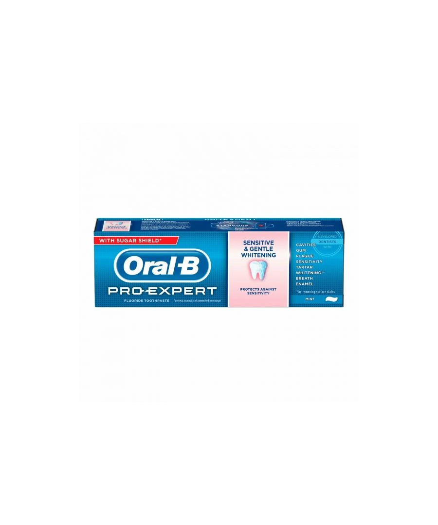 Image for Oral B Pro Expert Sensitive & Gentle Whitening Toothpaste 75ml