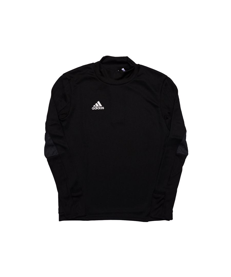 Image for Boy's adidas Junior Tiro 17 Training Top in Black