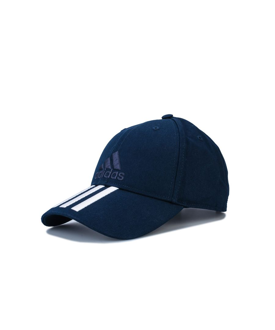 Image for Accessories adidas Six-Panel Classic 3-Stripes Cap in Navy-White