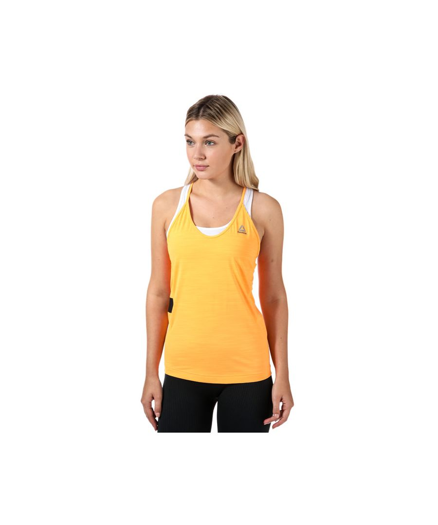 Image for Women's Reebok Activchill Tank in Orange