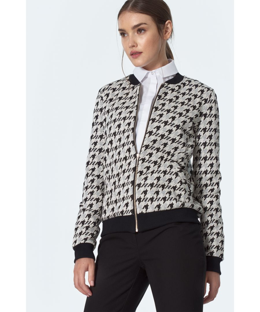 Image for Bomber jacket in pepito pattern