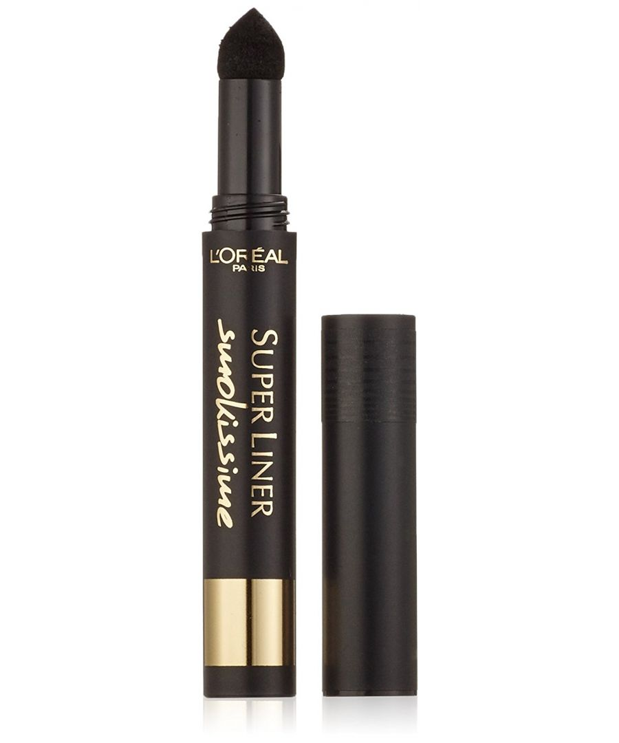Image for L'Oreal Paris Super Liner Smokissime Eye Liner Pen - 100 Black Smoke
