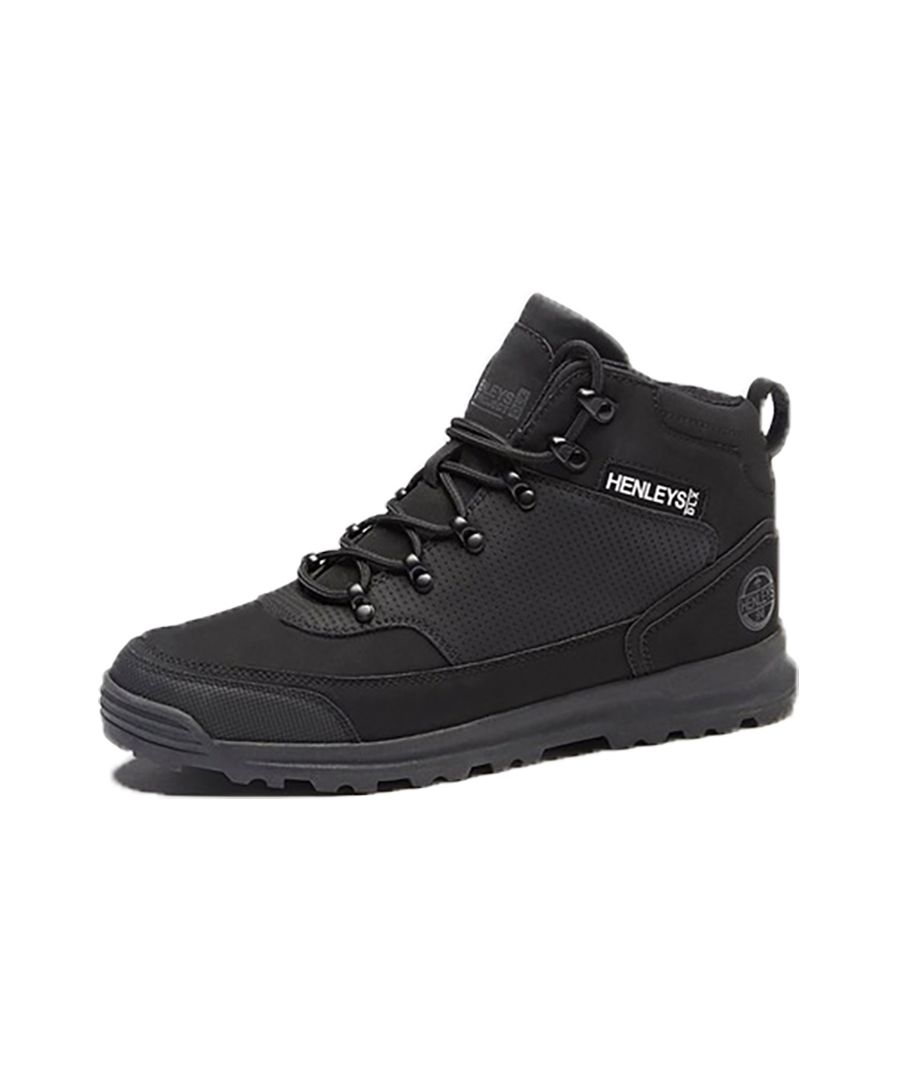 Image for Men's Henleys Paler Walking Boots, Black