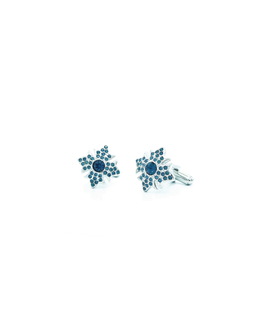 Image for Blue Swarovski Crystal Garter Star