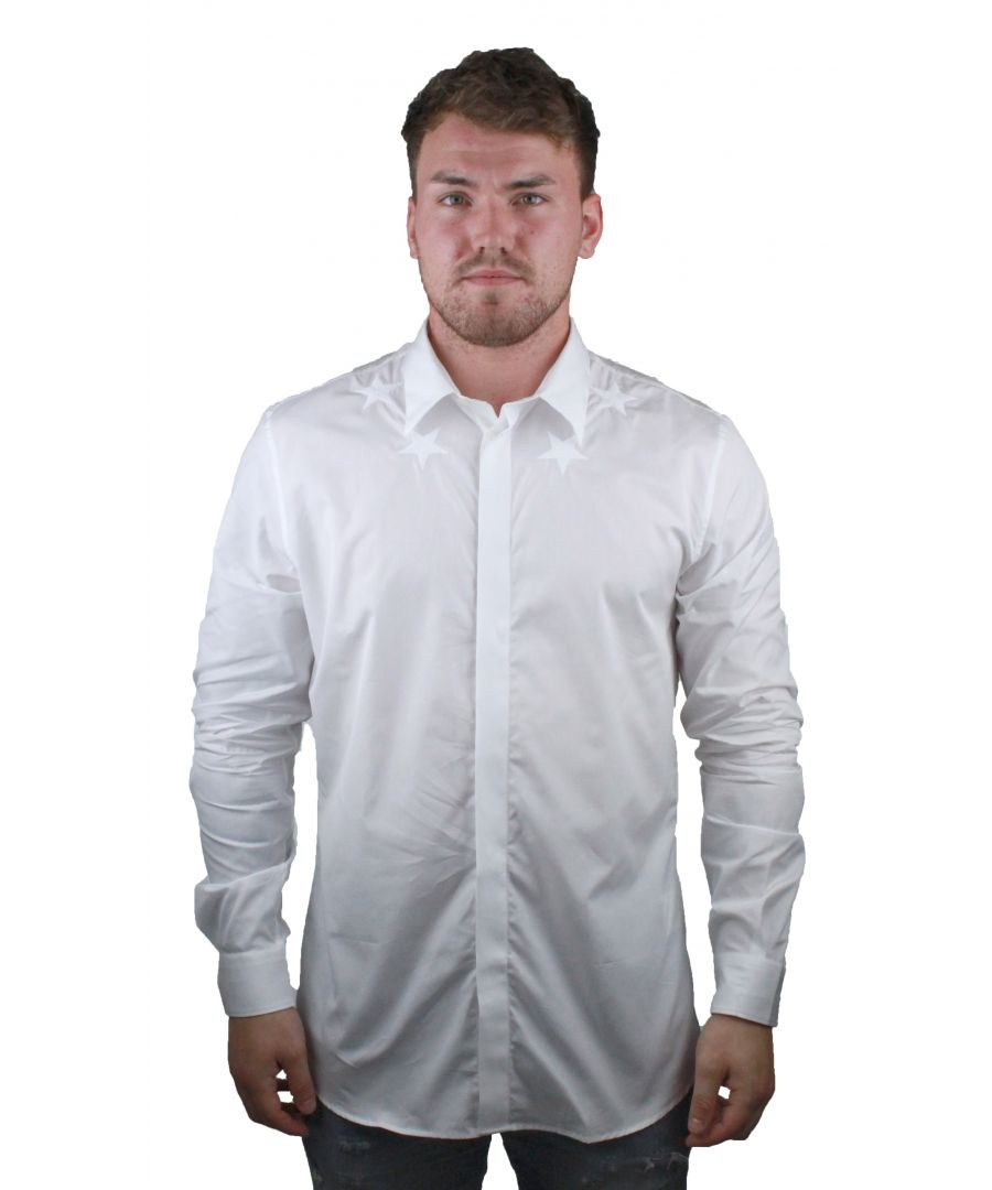 Image for Givenchy BM601C1Y39 100 Mens White Shirt