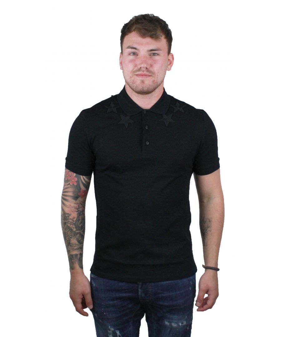 Image for Givenchy BM700V3006 011 Mens Polo Shirt