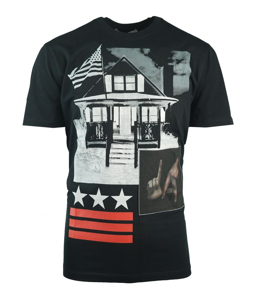 Image for Givenchy BM703Q3Y0Q 001 Mens T-Shirt