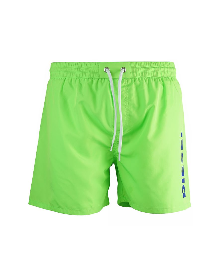 Image for Diesel BMBX-WAVE Green Swim Shorts