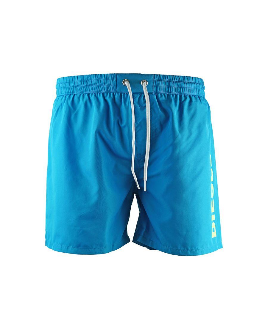 Image for Diesel BMBX-WAVE Blue Swim Shorts