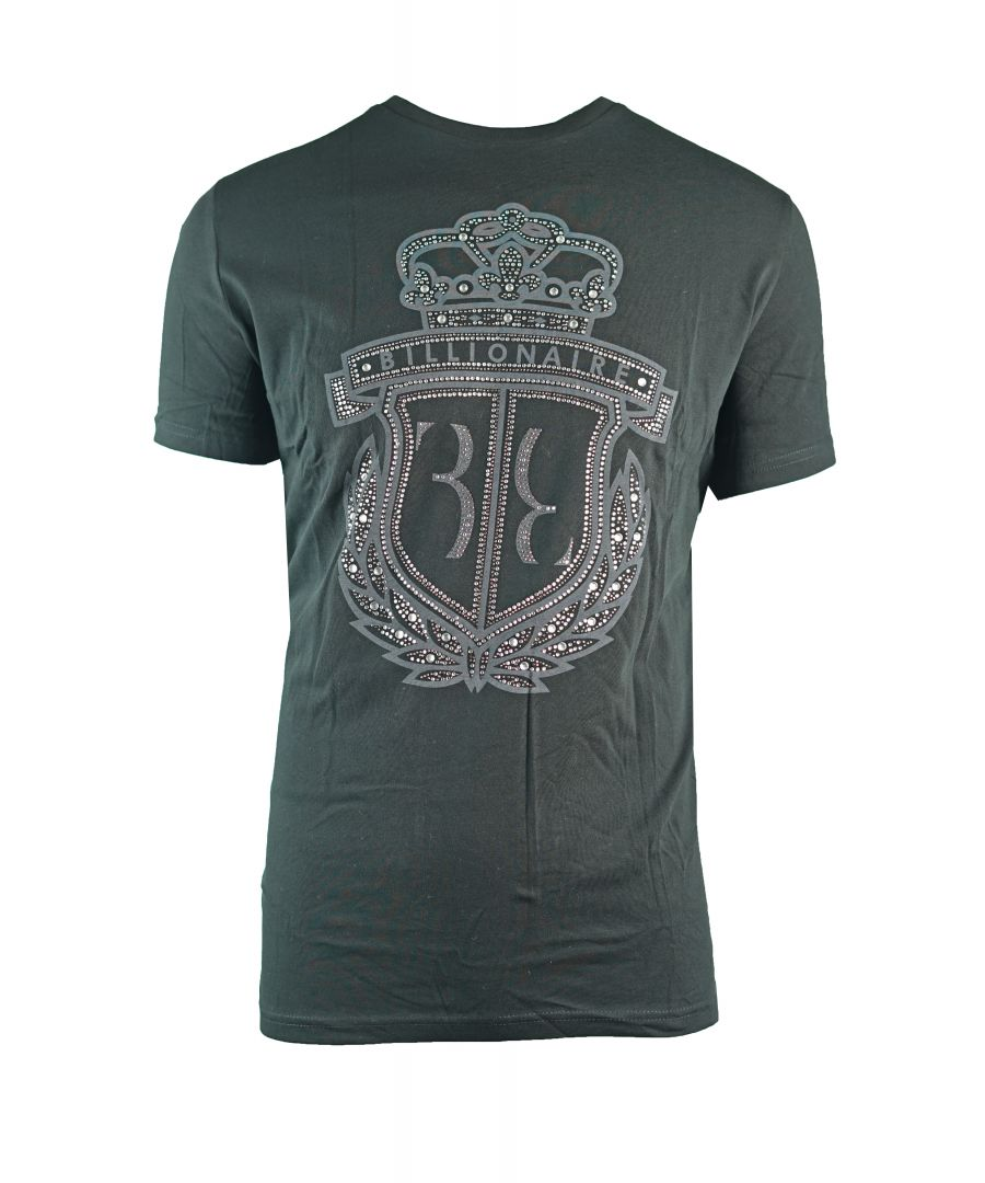 Image for Billionaire Cally MTK0677 02 Black T-Shirt