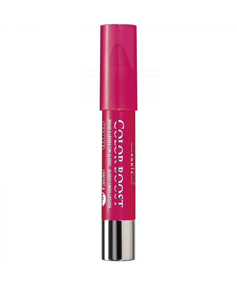 Image for Bourjois Paris Color Boost Lip Crayon SPF15 Waterproof - 01 Red Sunrise