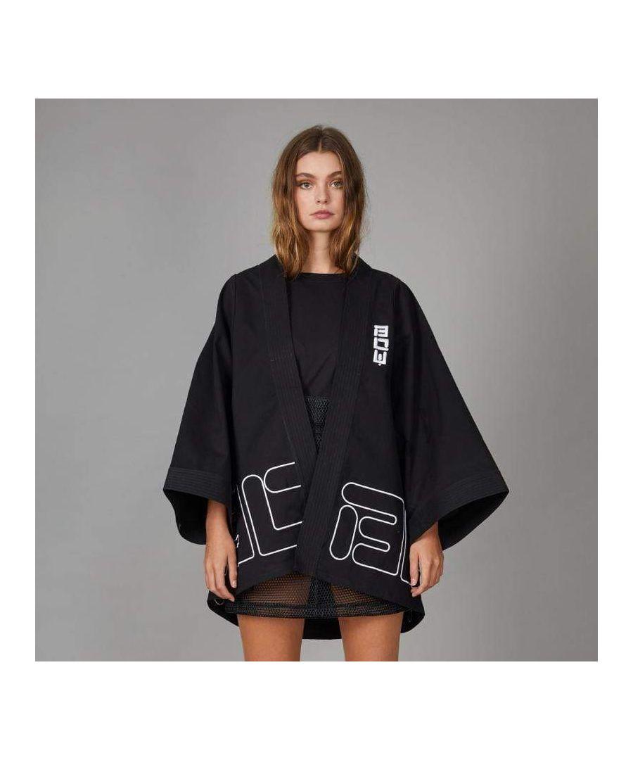 Image for Boy Drill Kimono Top