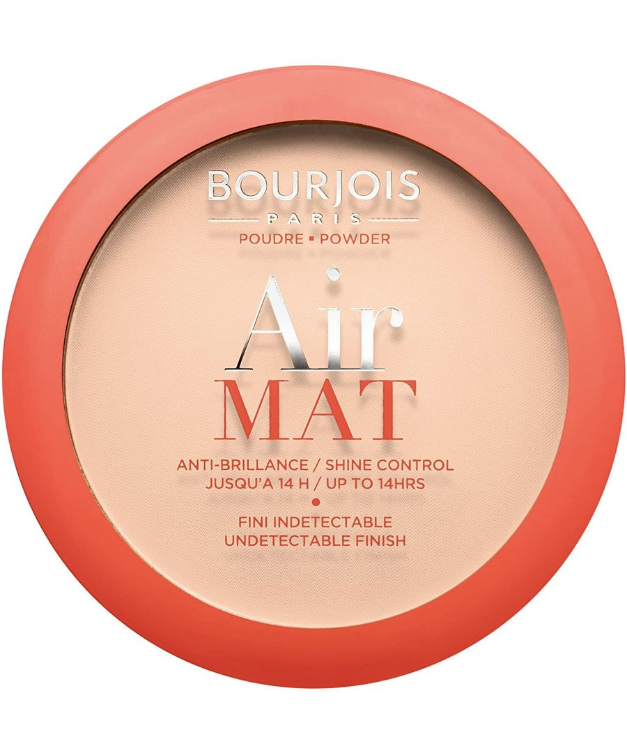 Image for Bourjois Paris Air Mat Shine Control Compact Powder 10g - 03 Apricot Beige