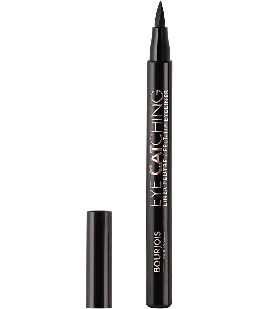 Image for Bourjois Paris Eye Catching Liquid Eyeliner Black