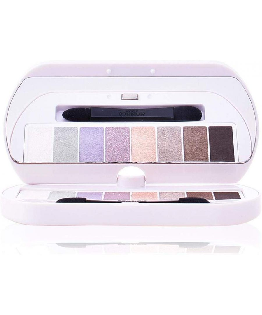 Image for Bourjois Paris 8 Shade Eyeshadow Palette Les Nudes 4.5g