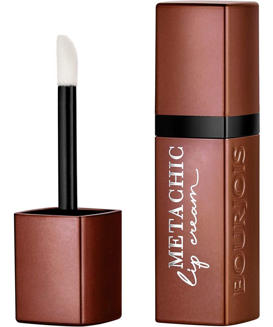Image for Bourjois Paris Metachic Lip Cream - 02 Nougat'sheen