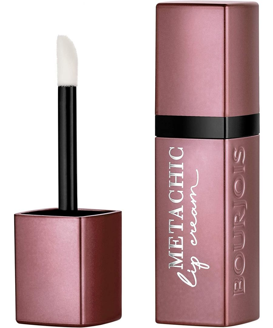 Image for Bourjois Paris Metachic Lip Cream - 03 Sun Rose