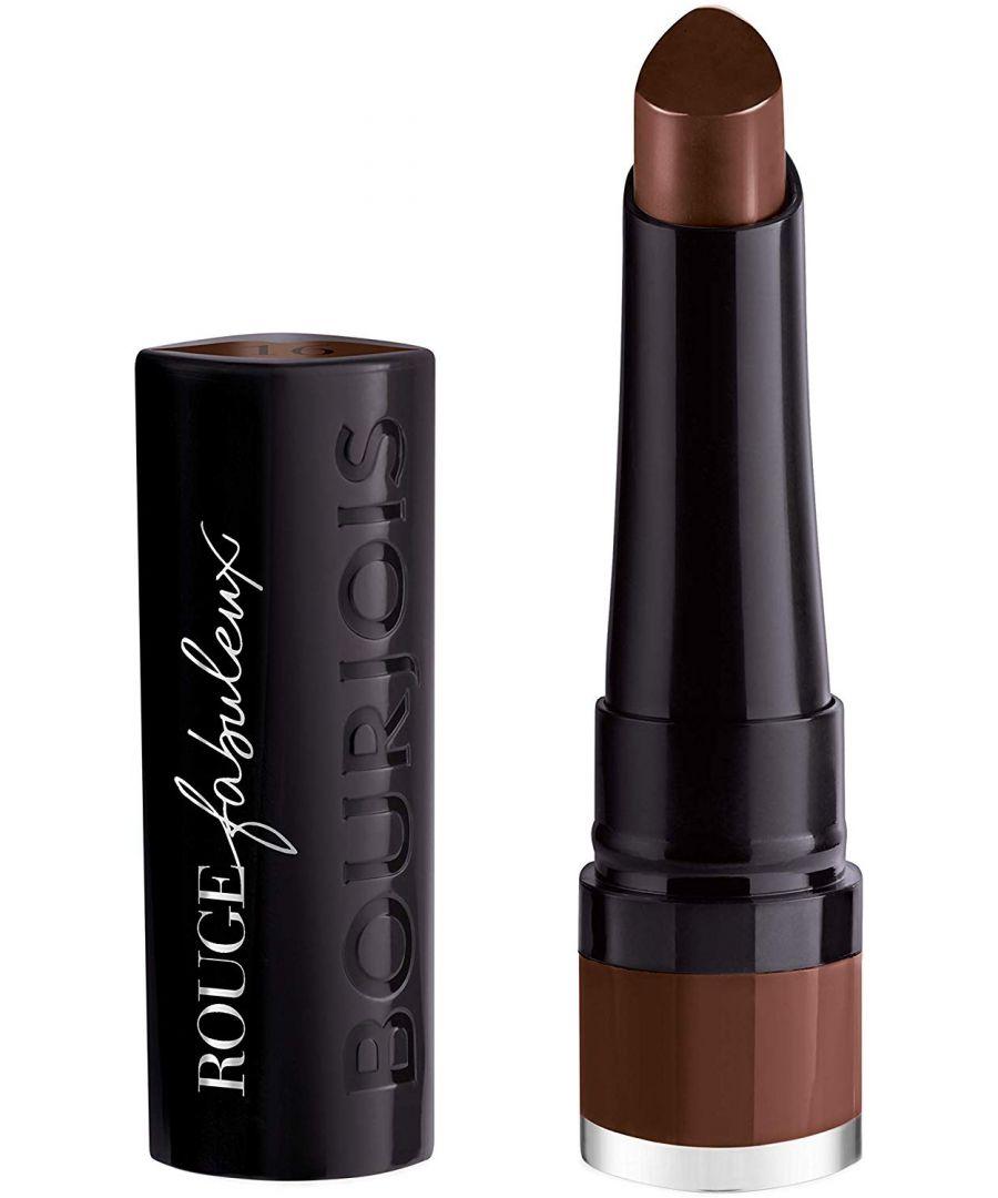 Image for Bourjois Paris Rouge Fabuleux Lipstick - 16 Rêve Tonka