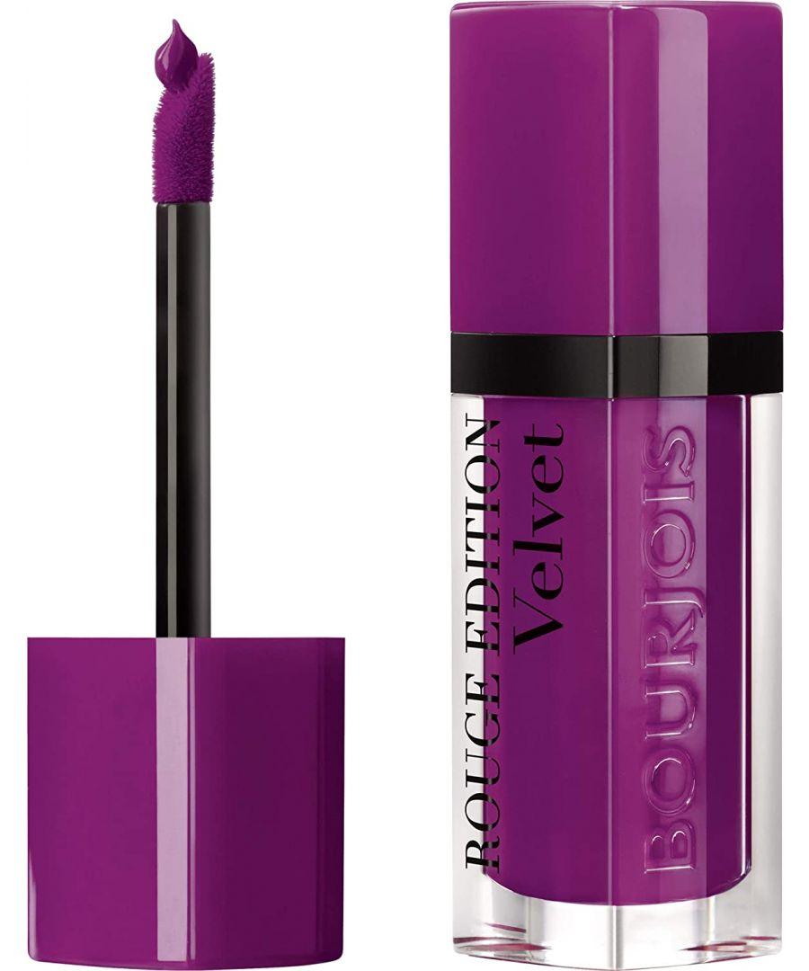 Image for Bourjois Paris Rouge Edition Velvet Lipstick 7.7ml - 21 Saperliprunette!