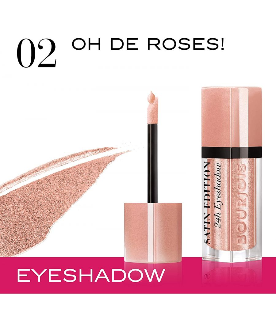 Image for Bourjois Paris Satin Edition 24H Eyeshadow - 02 Oh De Roses