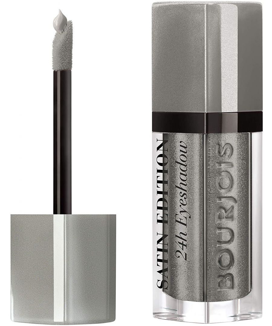 Image for Bourjois Paris Satin Edition 24H Eyeshadow - 06 Drive Me Grey-zy