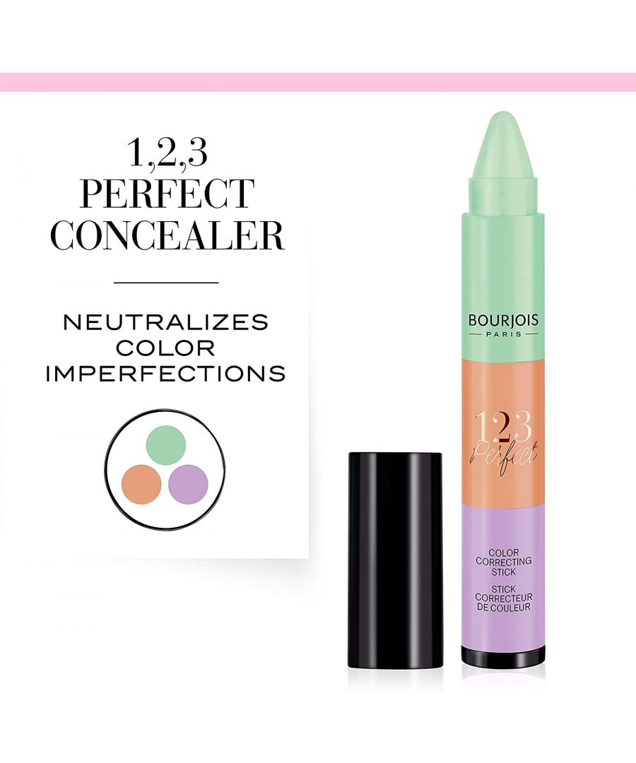 Image for Bourjois Paris 123 Perfect Stackable Colour Correcting Stick
