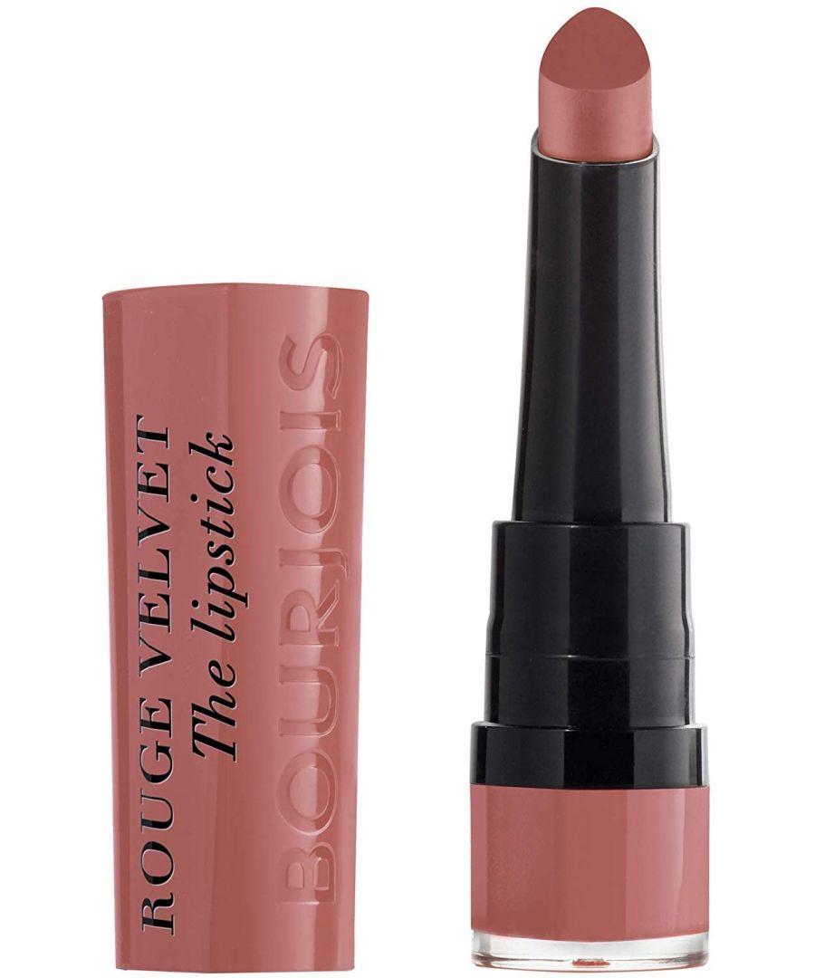 Image for Bourjois Paris Rouge Velvet Lipstick 2.4g - 13 Nohalicious