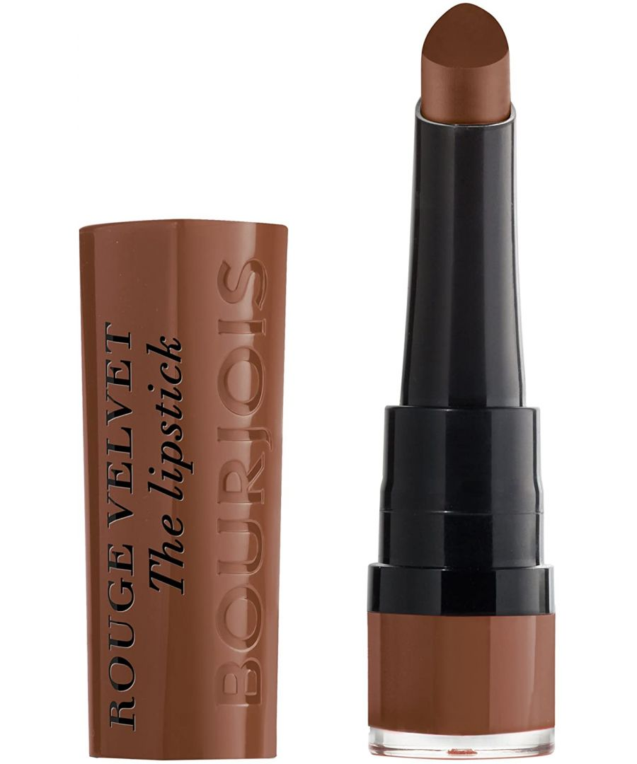 Image for Bourjois Paris Rouge Velvet Lipstick 2.4g - 14 Brownette