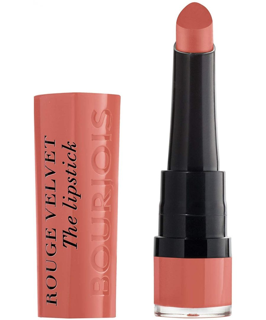 Image for Bourjois Paris Rouge Velvet Lipstick 2.4g - 15 Peach Tatin