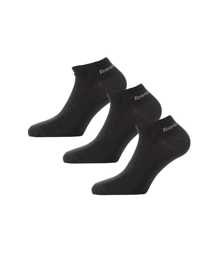 Image for Men's Reebok ONE Series 3 Pack Socks in Black
