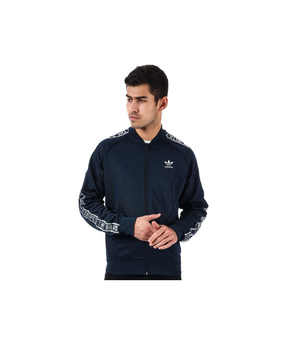 Image for Men's adidas Originals Essentials SST Track Jacket in Navy