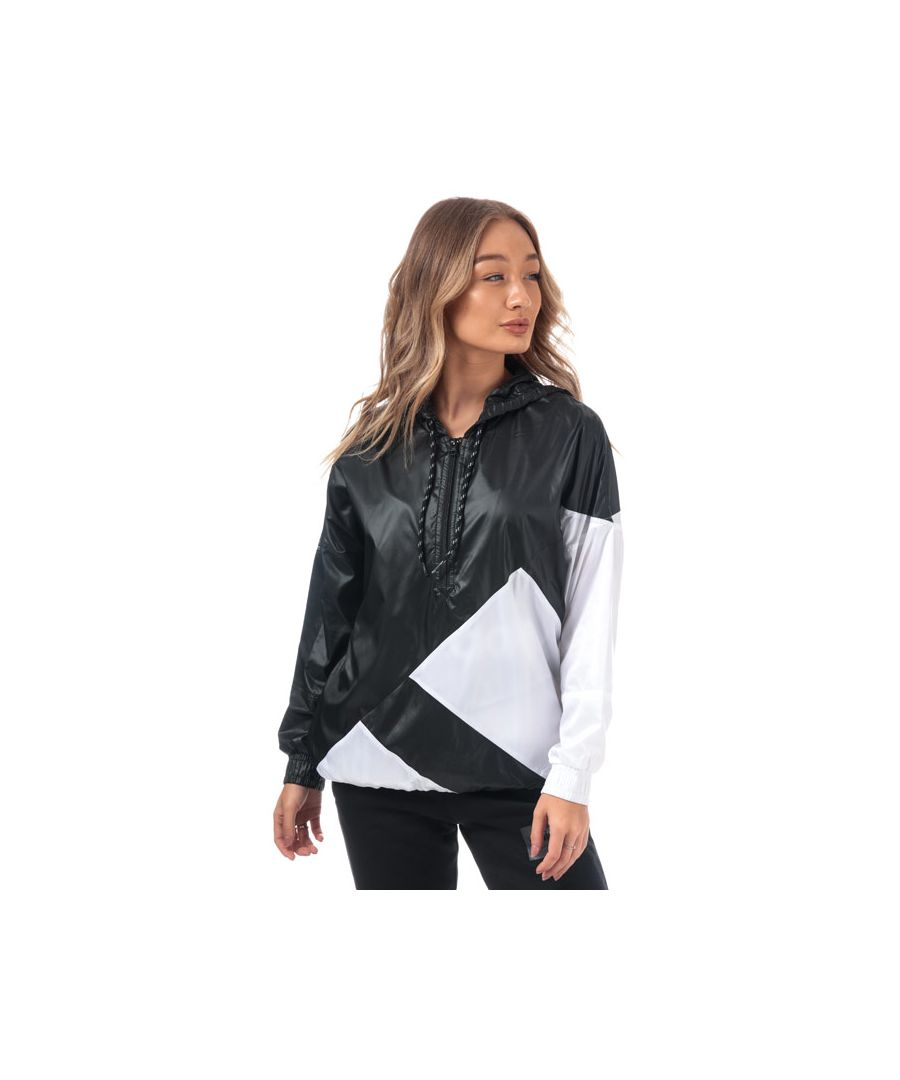 Image for Women's adidas Originals EQT Windbreaker Jacket in Black-White