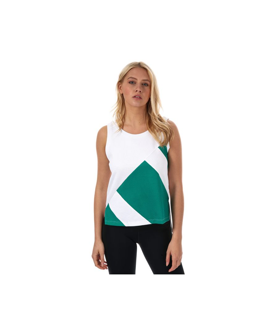 Image for Women's adidas Originals EQT Tank Top in White Green