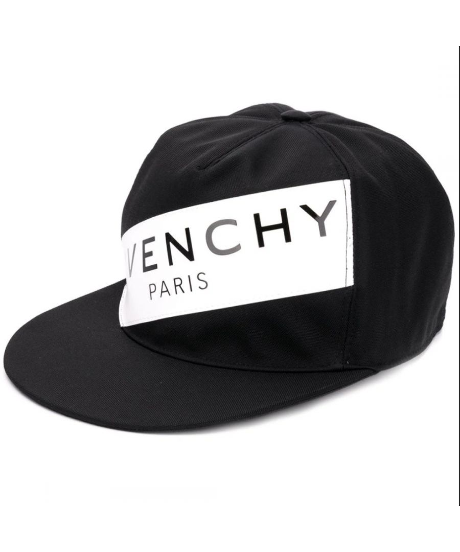 Image for Givenchy Paris Logo Strip Black Cap