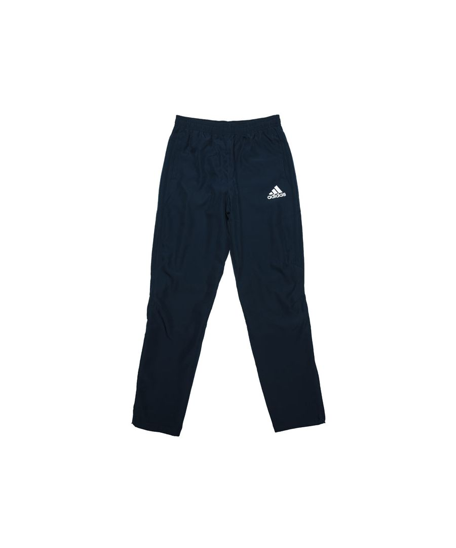 Image for Boy's adidas Junior Tiro 17 Woven Track Pants in Navy