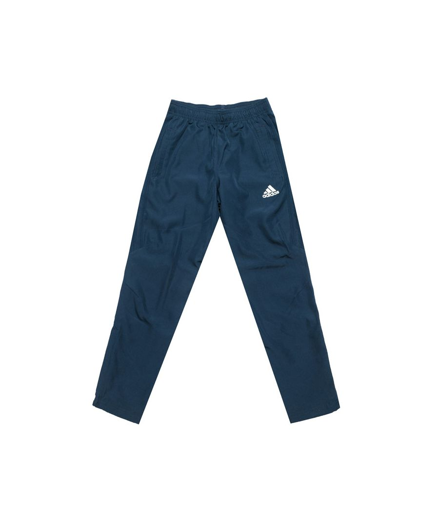 Image for Boy's adidas Junior Tiro 17 Woven Pant in Navy