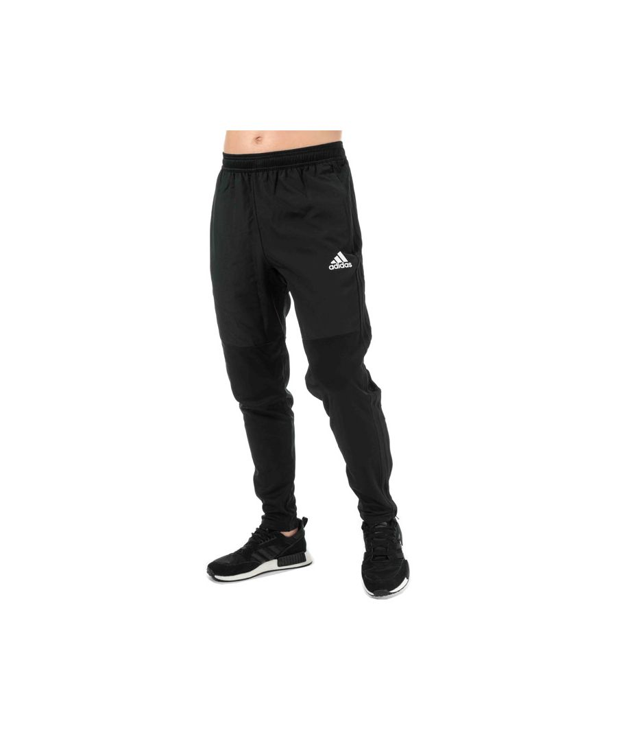 Image for Men's adidas Condivo 18 Warm Tracksuit Bottoms in Black