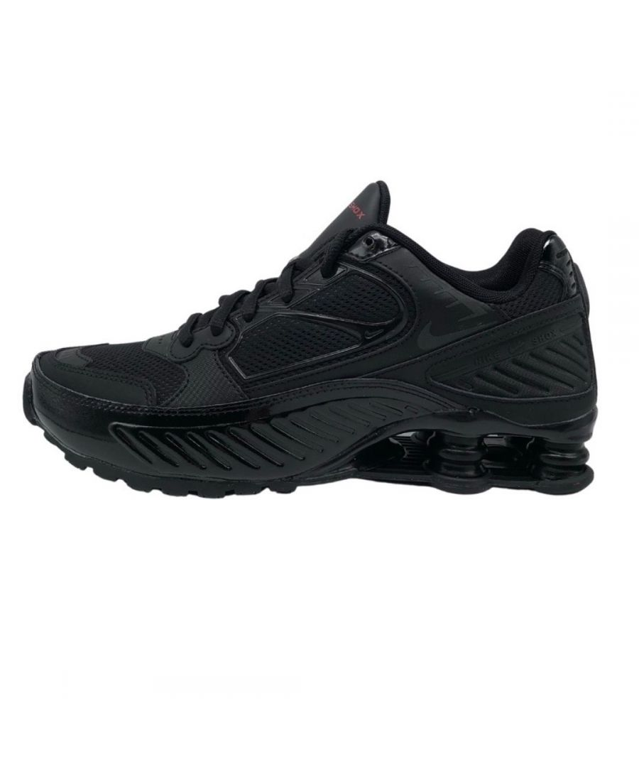 Image for Nike Shox Enigma 9000 Womens Black Sneakers