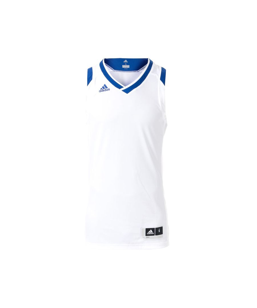 Image for Men's adidas Crazy Explosive Jersey Vest in White
