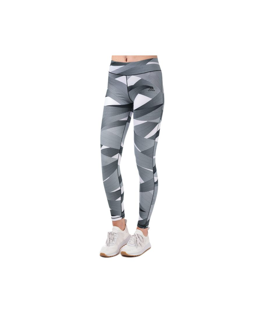 Image for Women's adidas Ultimate Print Tights in White