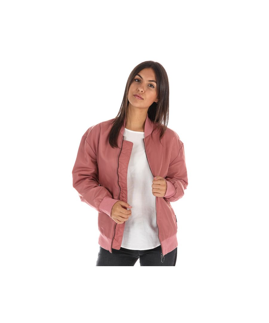 Image for Women's Reebok Studio Favourites Bomber Jacket in Rose