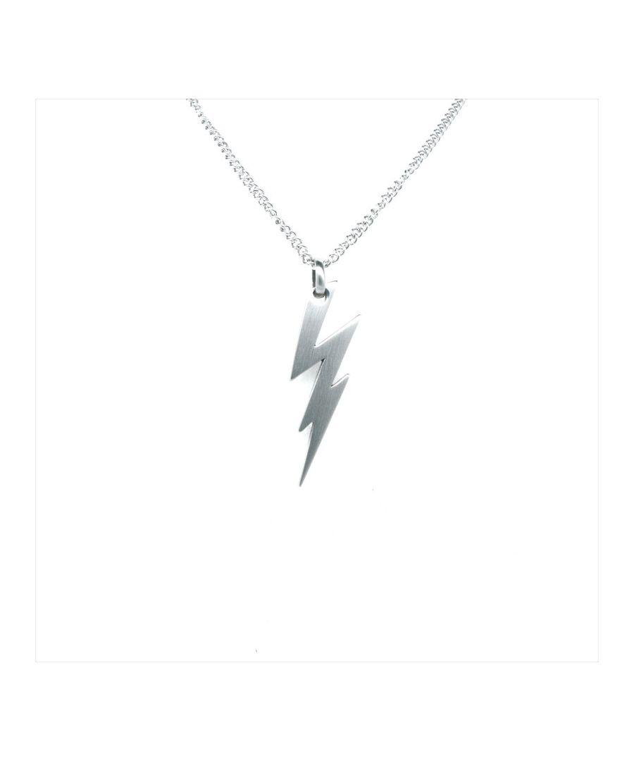 Image for Simon Carter Brushed Lightening Bolt Necklace