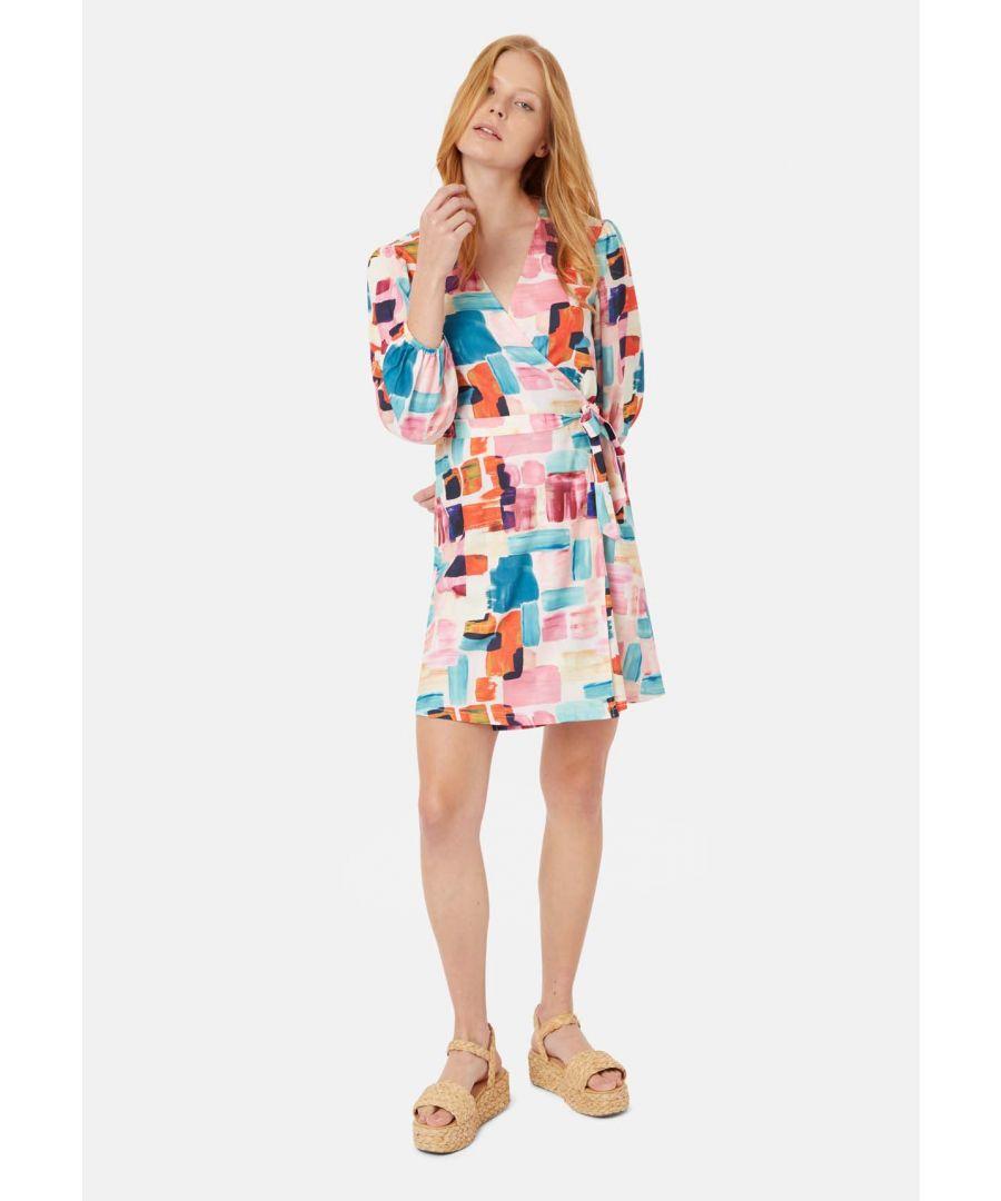 Image for Mutiny Printed Mini Dress in Multicoloured