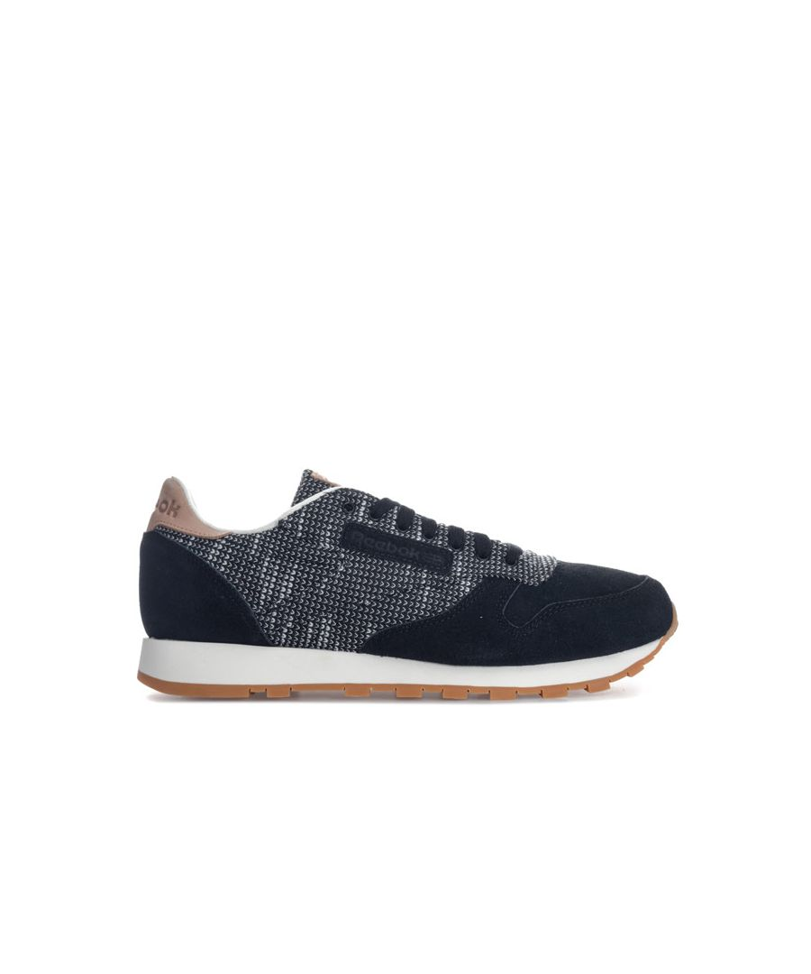 Image for Men's Reebok Classics Classic Leather Ebk Trainers in Black Grey