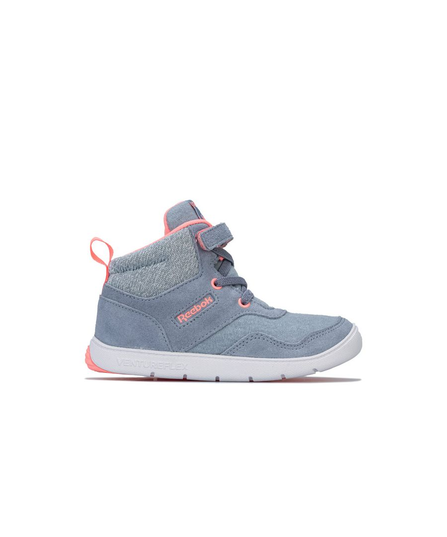 Image for Girl's Reebok Classics Infant Ventureflex Sneaker Boots in Grey