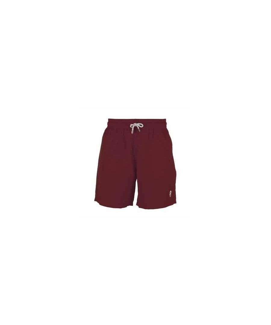 Image for Boy's Burgundy Swim Shorts