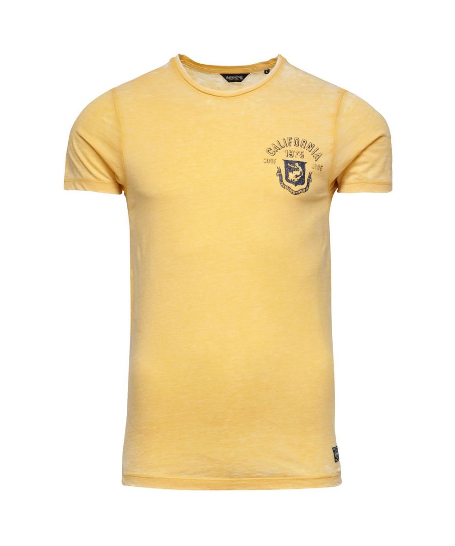 Image for Jack and Jones Burn Tee O-Neck Yellow T-Shirt