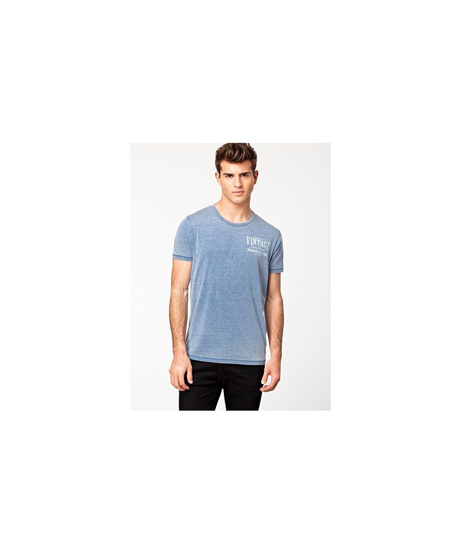 Image for Jack and Jones Burn Tee O-Neck Light Blue T-Shirt