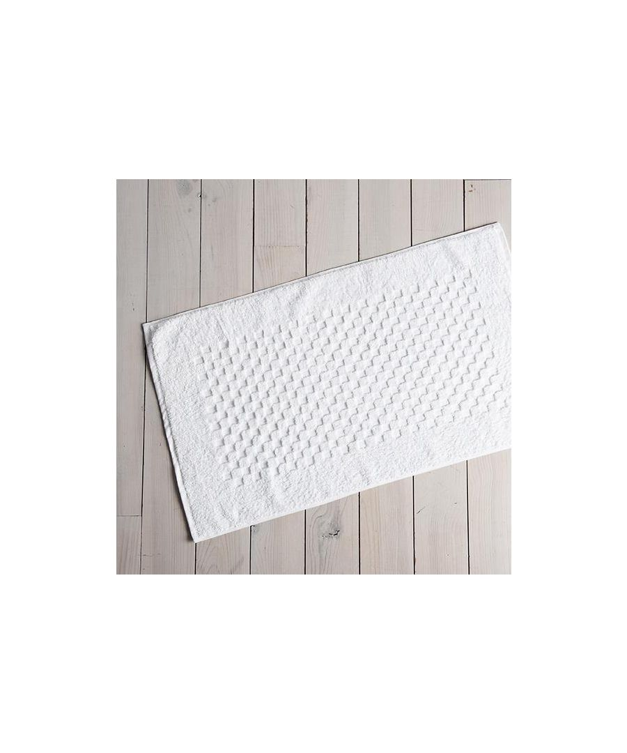 Image for Waffle Bath Mat Natural
