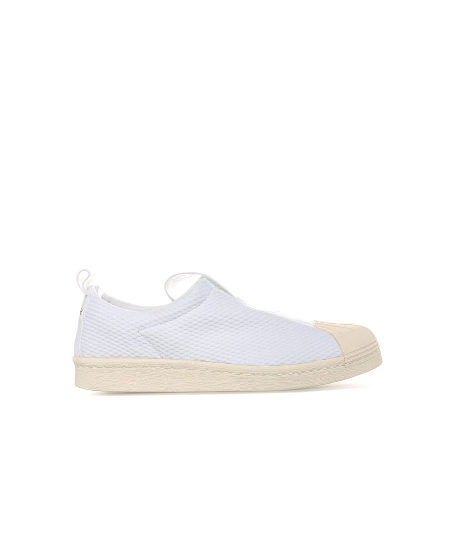 Image for Women's adidas Originals Superstar BW35 Slip-On Trainers in White